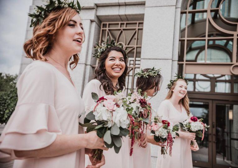 Brides Maids Boston Temple