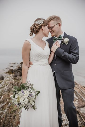 Coastal Wedding Maine