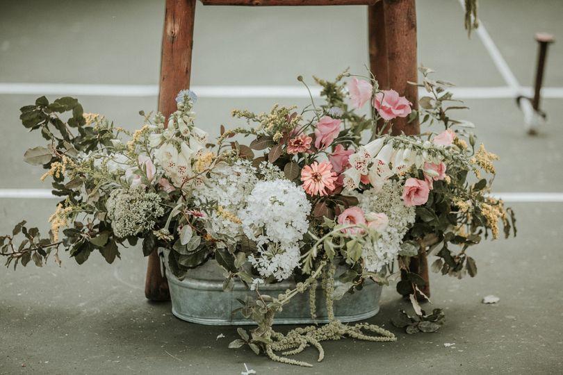 Guestbook Table Arrangement