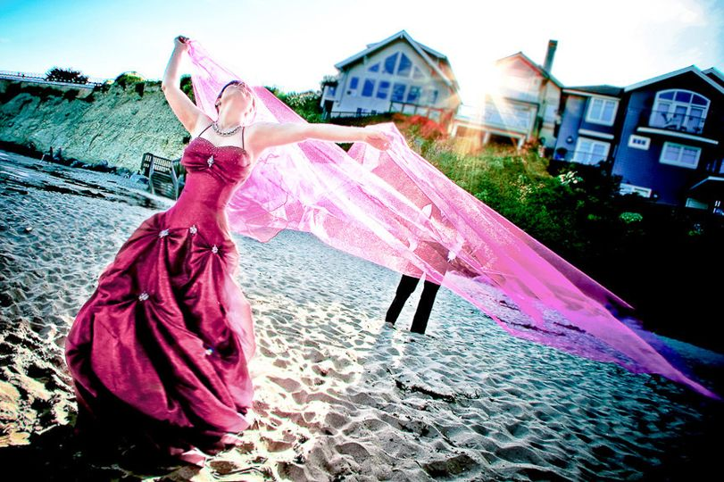 capitola beach wedding