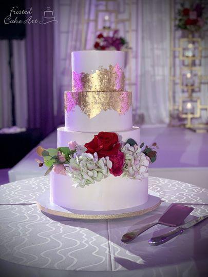 Eggless Wedding Cake