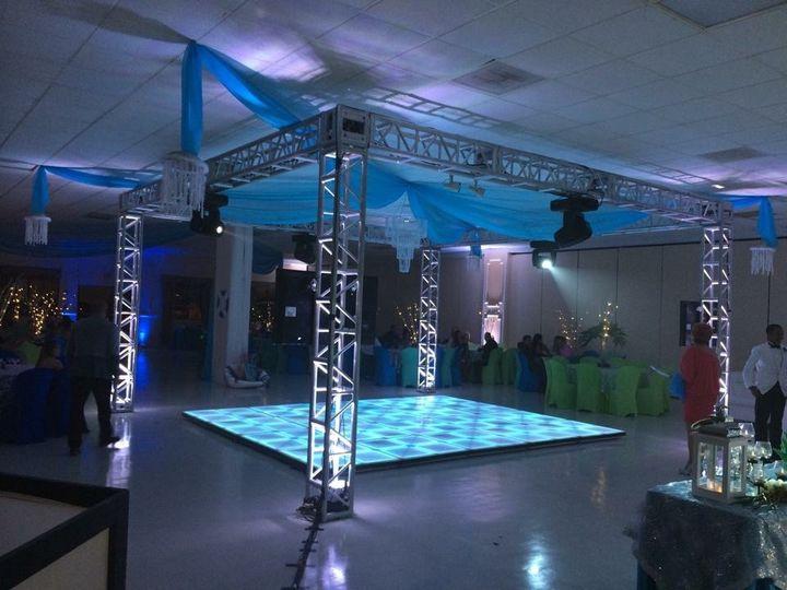 Led Dancefloor available