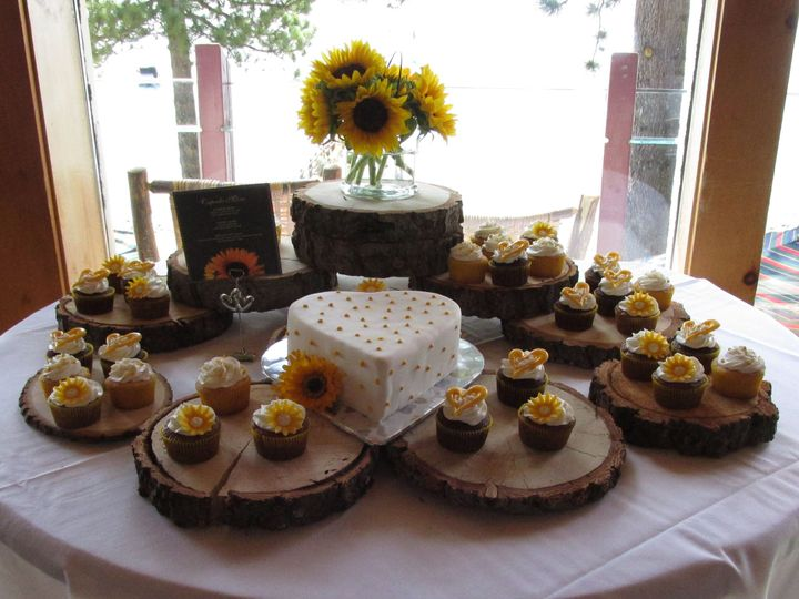Tmx 1437933919548 Heart Cutting Cake  Cupcakes Auburn, CA wedding cake