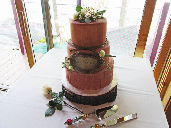 Tmx 1477811916639 A Woodsy Theme Auburn, CA wedding cake