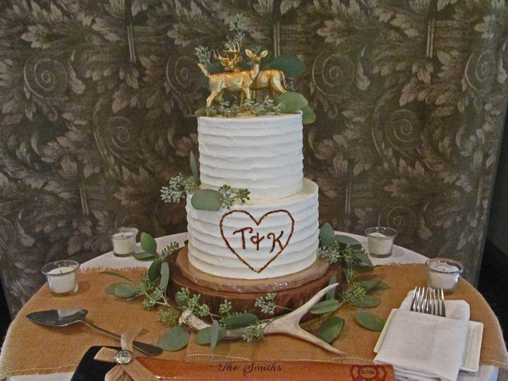 Tmx 1477811971945 Rustic Buttercream2 Auburn, CA wedding cake