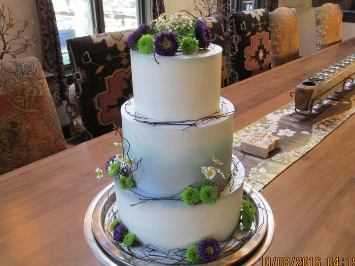 Tmx 1477812080067 Airbrushed Buttercream Auburn, CA wedding cake