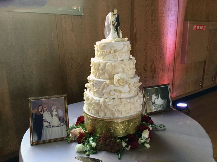 Tmx 1477812823785 Rosecake2015 Auburn, CA wedding cake