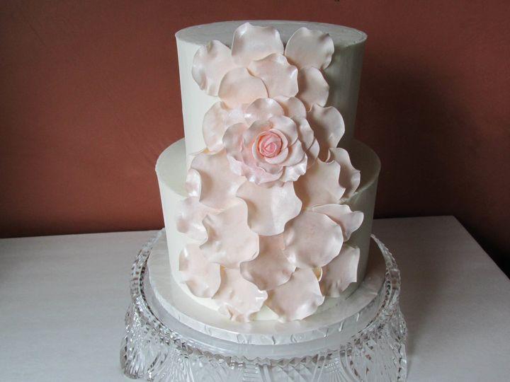 Tmx 1498665062935 Large Rose Application Auburn, CA wedding cake