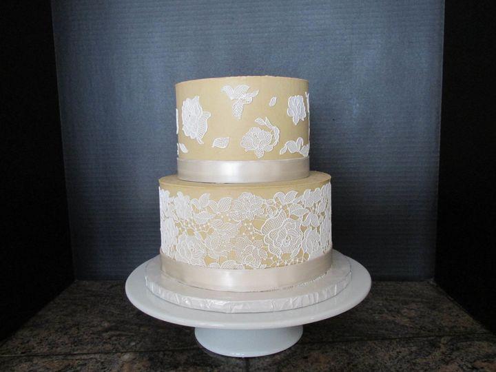Tmx 1505076258237 Lacecake2017 Auburn, CA wedding cake