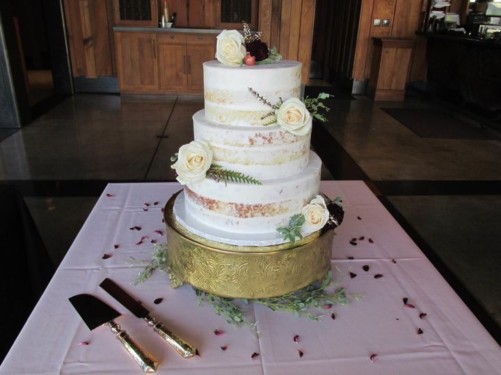 Tmx 1505076447931 Nakedcake2017 Auburn, CA wedding cake