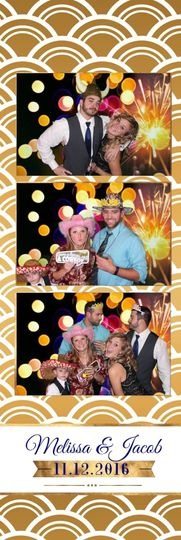 Customized Photo Booth Strip