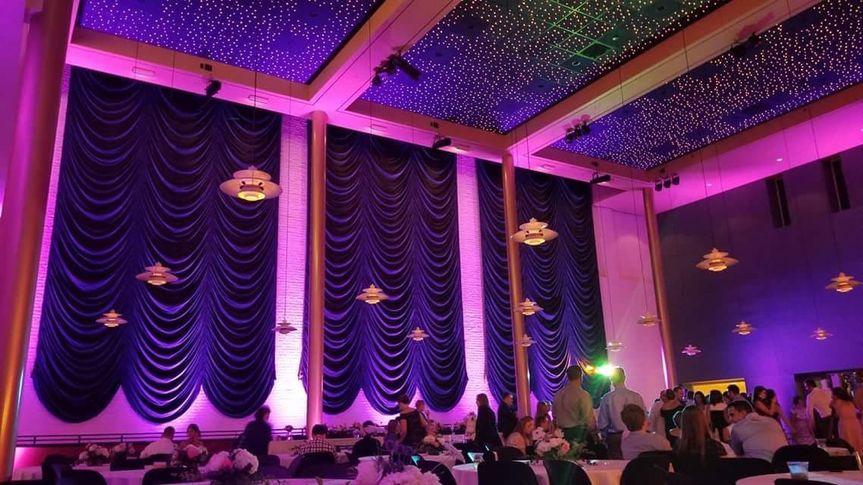 Up lighting transform rooms