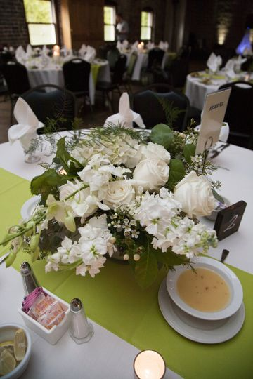 Guest Table@ Reception