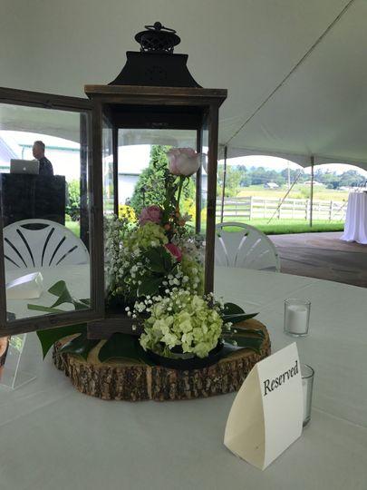 Reception for Sherrod Wedding