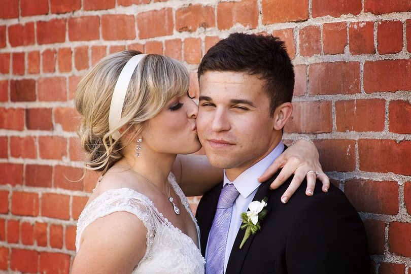 Bride and Groom located at the Sterling Hotel in Sacramento, California.