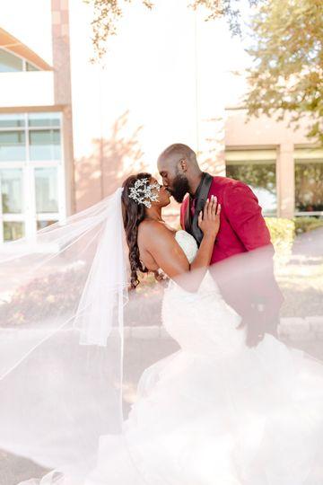 Couples Veil Shot