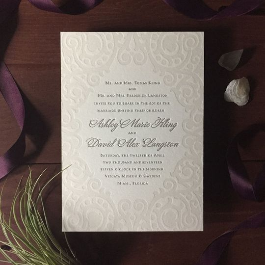 Beautiful invite