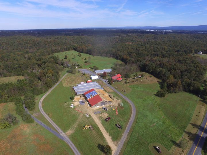 Situated on 40 bucolic acres