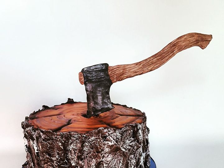 Tmx Lumberjack Cake 51 1032521 Billings, Montana wedding cake