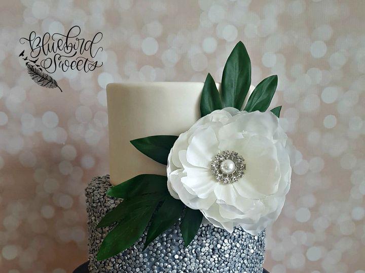Tmx Navy Sequins Glam Wedding Cake 51 1032521 Billings, MT wedding cake