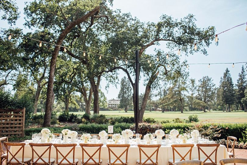 Outdoor reception |Napa Valley