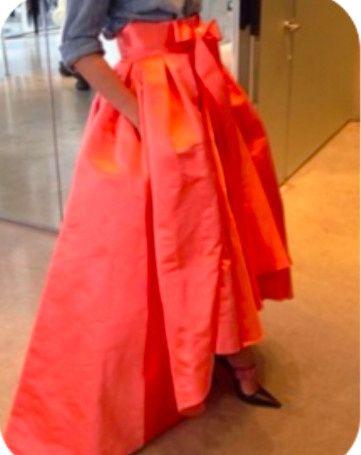 Elegant Hi-Low Skirt