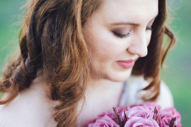 Bridal makeup (Cred to CaptiveArt Photography)