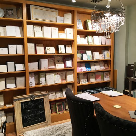Our lovely stationery suite, where the magic happens!