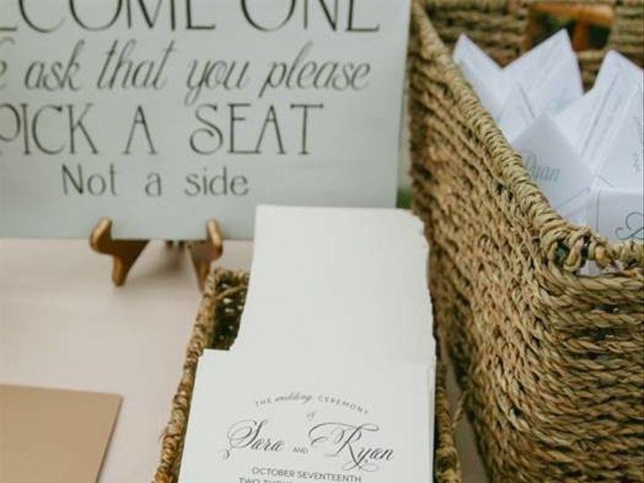 Tmx 1512151471975 Tuscherceremonyprogram Lancaster, Pennsylvania wedding invitation