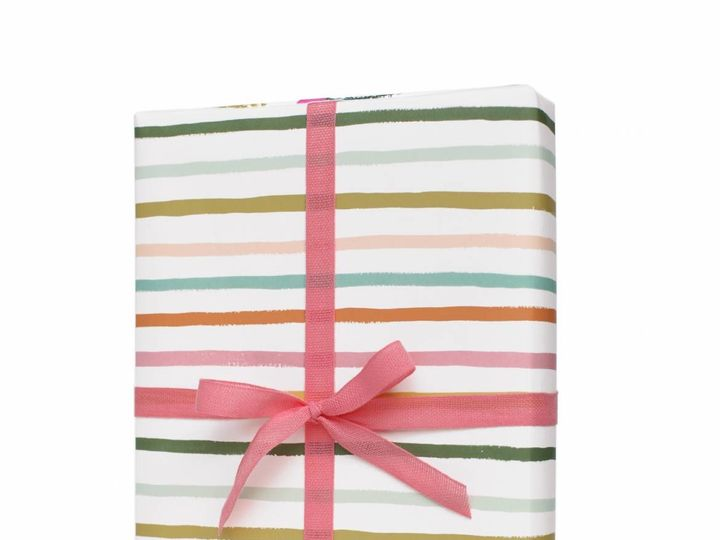 Tmx 1512155621115 Happy Stripe Wrapping Sheets 01 Lancaster, Pennsylvania wedding invitation