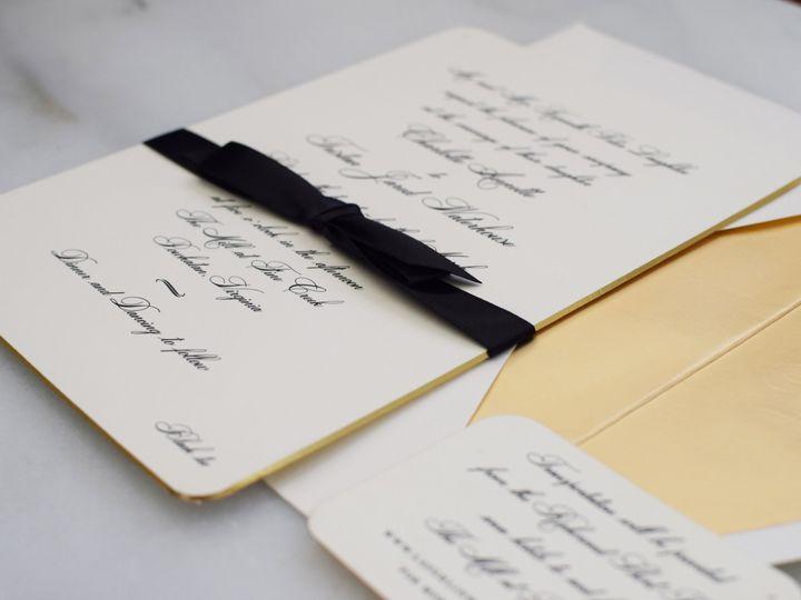 Tmx 1517413534 25160fe6a4f3b19c 1517413530 208dd449addbf0ed 1517413520821 3 DSC 0772 Lancaster, Pennsylvania wedding invitation