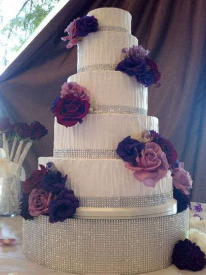 5 tiered cake