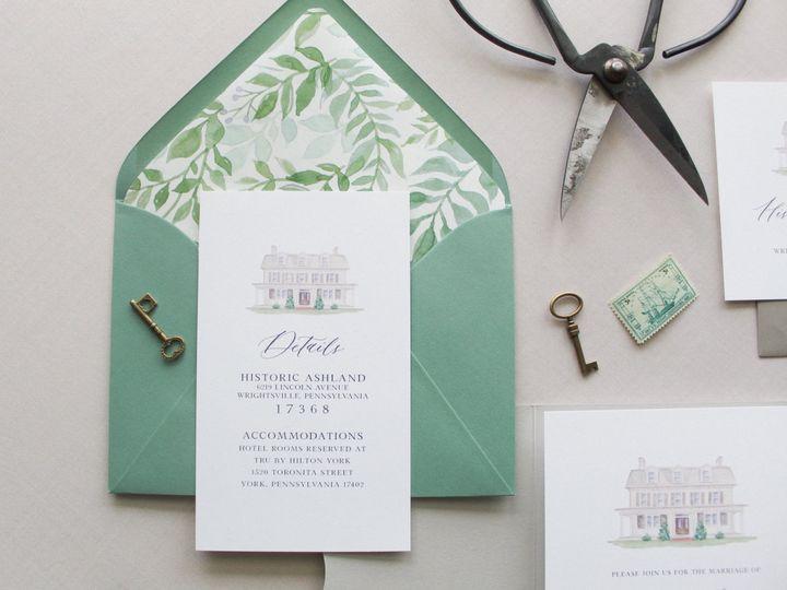 Tmx Img 3136 51 1055521 158316542550723 Manchester, PA wedding invitation