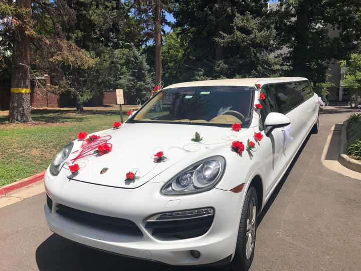 Porsche Cayenne Limo