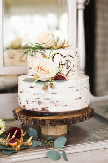 Aspen/ White Birch Cake