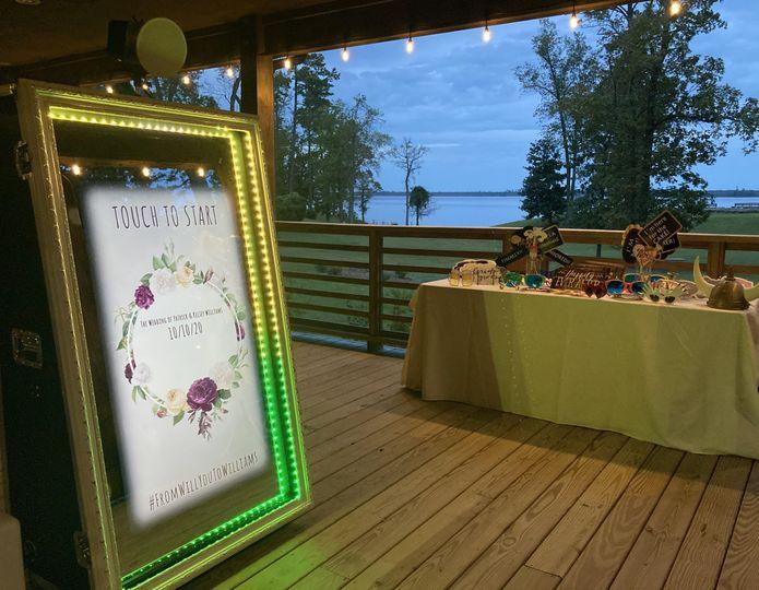 We do outdoor weddings