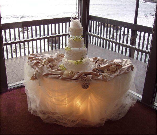 Tmx 1225394859078 GlowingCakeTable Grover Beach wedding rental