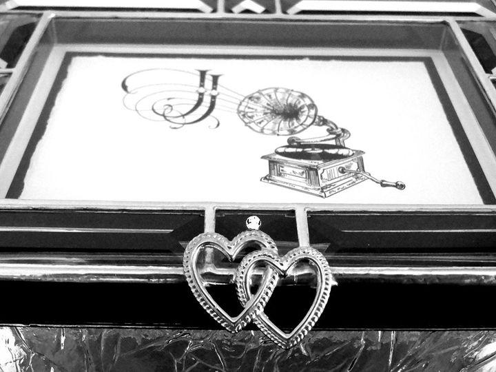 Tmx 1342034515459 Cutglassboxinvitation Westlake Village wedding invitation