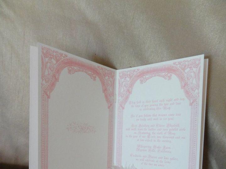 Tmx 1342034994596 Fairytaleinvitationopened Westlake Village wedding invitation