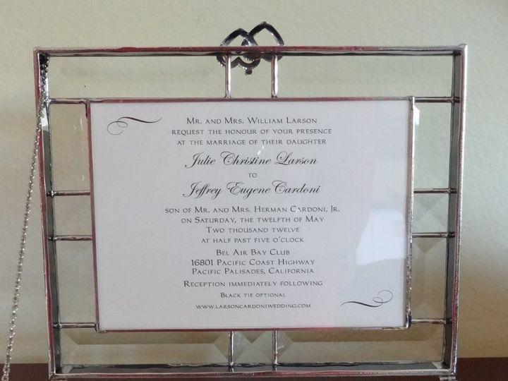 Tmx 1342036522692 DSC01278 Westlake Village wedding invitation