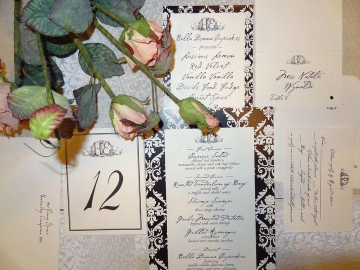 Tmx 1342041498674 DSC00662 Westlake Village wedding invitation