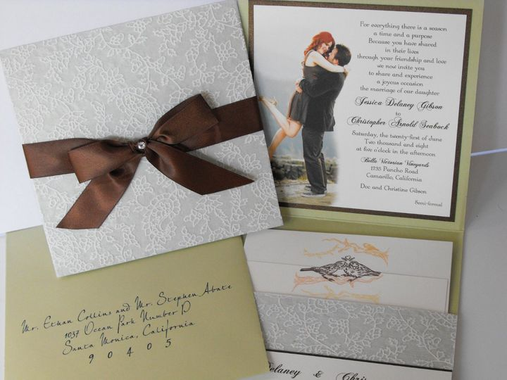 Tmx 1342041753832 0808150049 Westlake Village wedding invitation