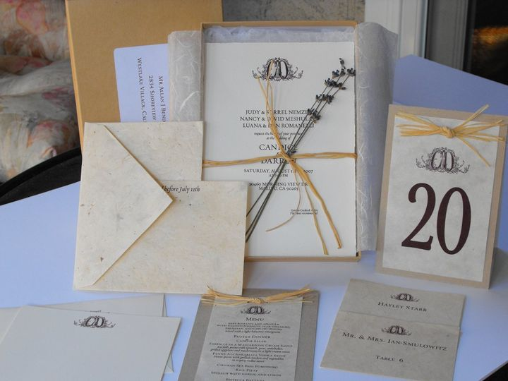 Tmx 1342041845771 0808150042 Westlake Village wedding invitation