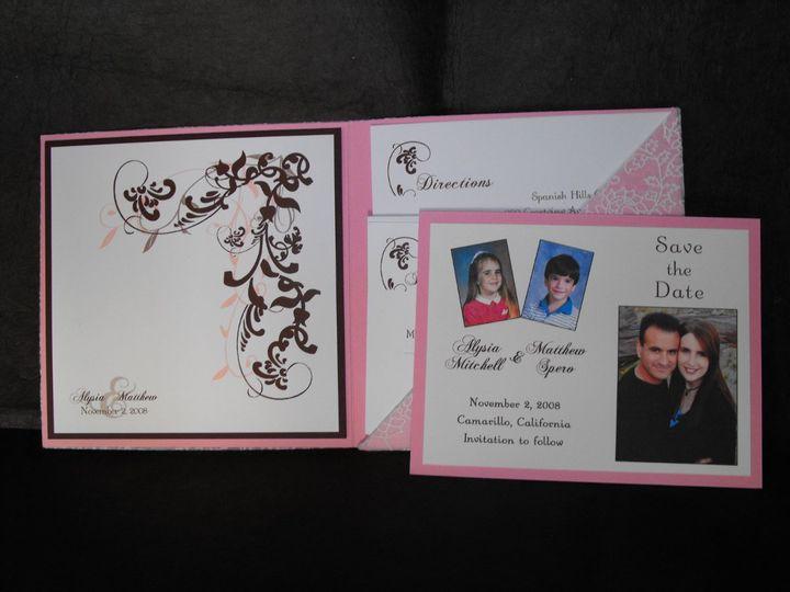 Tmx 1342042127068 DSCF0382 Westlake Village wedding invitation