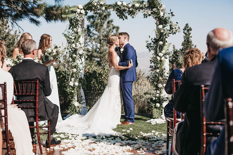 Lovely ceremony decor