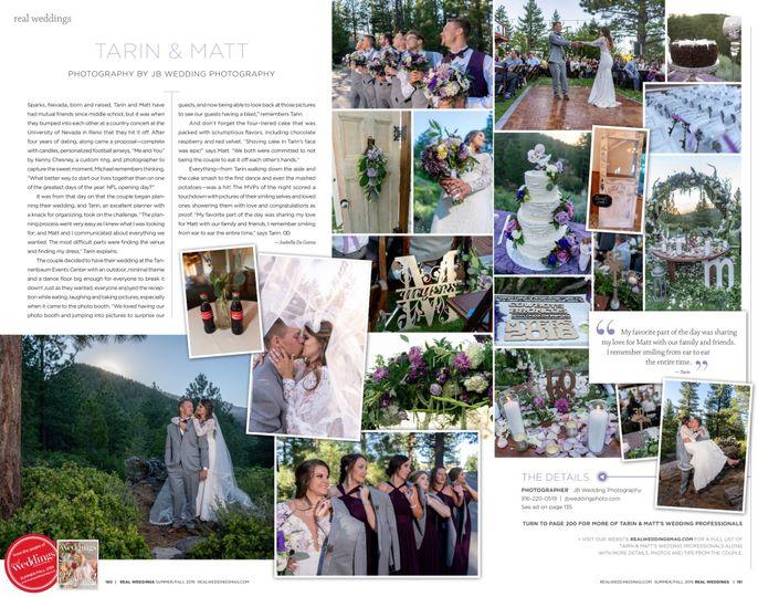 Featured in Bride MAG!