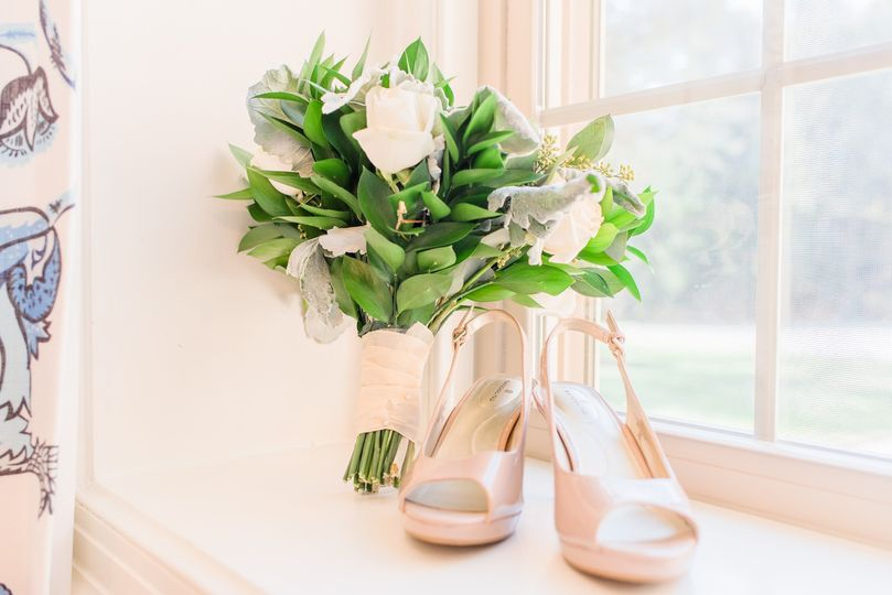 Shoes and flowers!