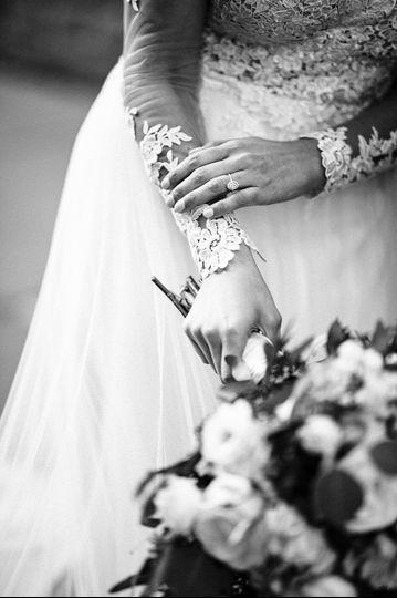 Little wedding day details