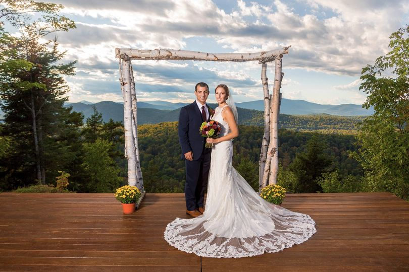 Couple in view of stunning scenery - Solas Studios Photography
