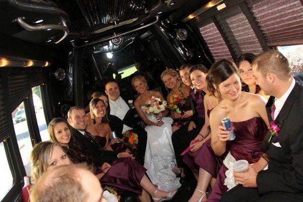 Tmx 1338406598171 Insideroyalpartybuswedding Milwaukee, Wisconsin wedding transportation